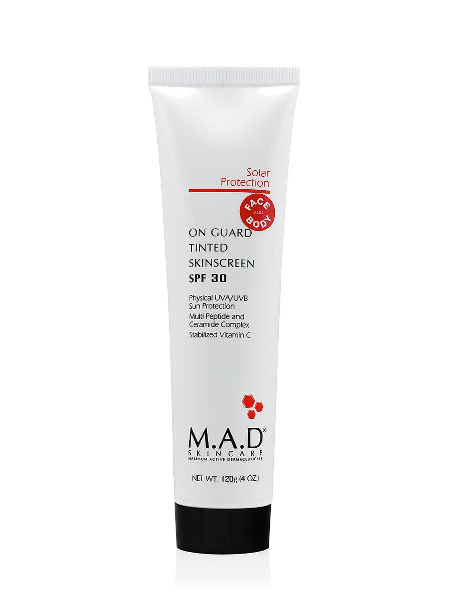 On Guard TINTED Skinscreen SPF 30 — защитный маскирующий крем для лица и тела SPF 30