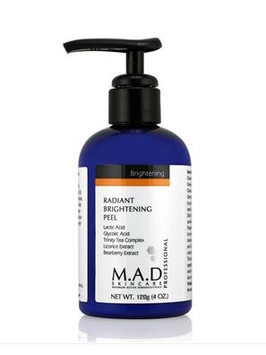 Radiant Brightening Peel – Lactic acid 16% , Glycolic Acid 6% рН-2,5 — Кислотный пилинг — бустер « Radiant Brightening Peel»